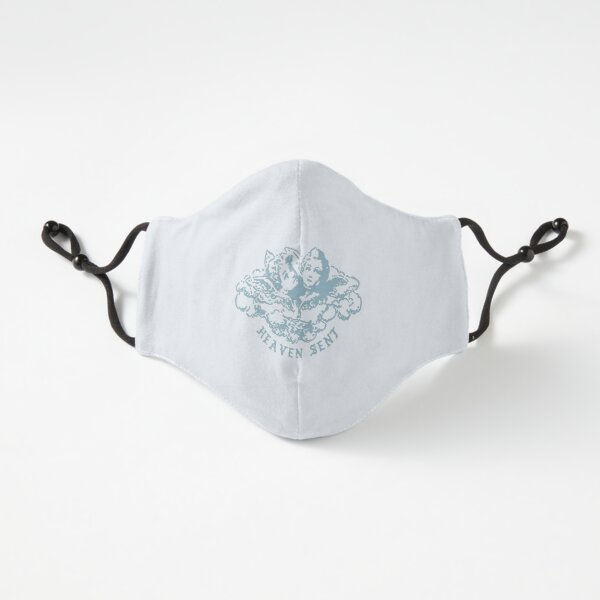 """""""Heaven Sent"""" Angels Light Blue Graphic Fitted 3-Layer"""