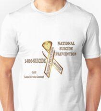 Prevent Suicide Ribbon Banner T-Shirt