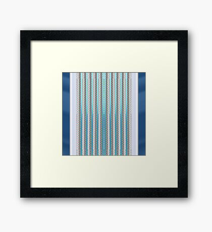Chilled zing Framed Print