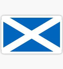 Scottish Flag Sticker Sticker