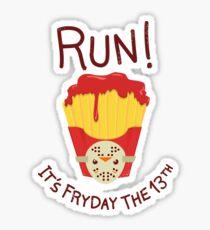 Bloody FryDay! Sticker