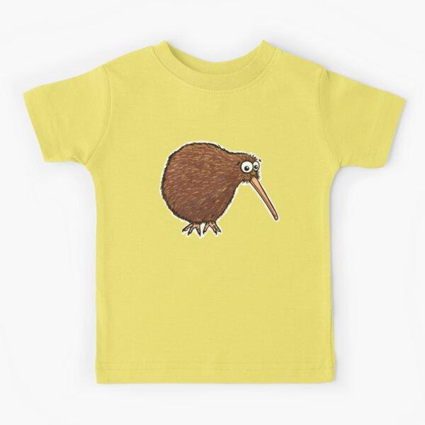 Cutest Kiwi - clock ft. Te Reo Maori numbers Kids T-Shirt