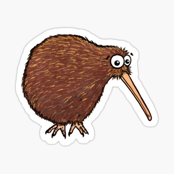 Cutest Kiwi - clock ft. Te Reo Maori numbers Sticker