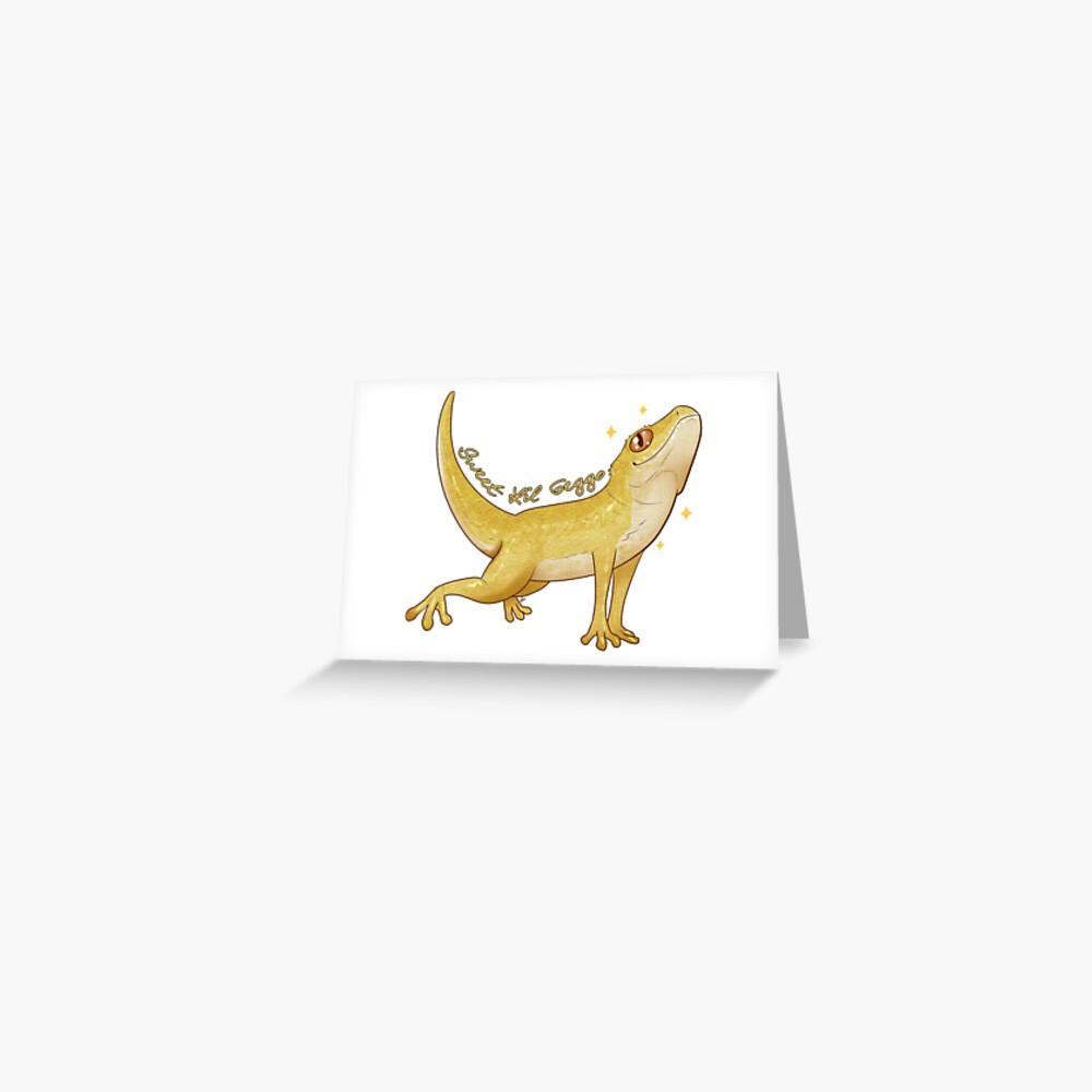 Sweet Lil Geggo Greeting Card