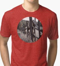 Old Fence Tri-blend T-Shirt