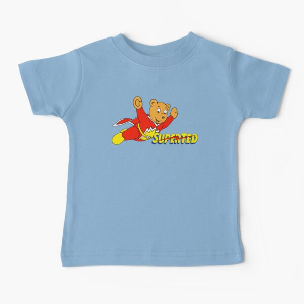 Superted superhero teddy bear Baby T-Shirt