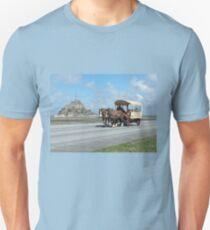 Horse & Carriage - Mont St. Michel, Normandy, France T-Shirt