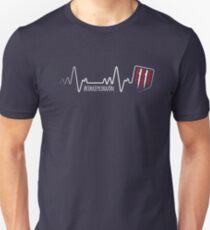 Atleti - Coraje y Corazón Latido T-Shirt