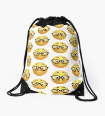 Nerd Emoji Drawstring Bag
