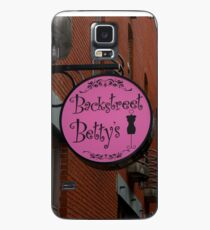 Backstreet Betty's Boutique Sign Case/Skin for Samsung Galaxy