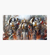 Warhammer 40K Grey Knights Photographic Print