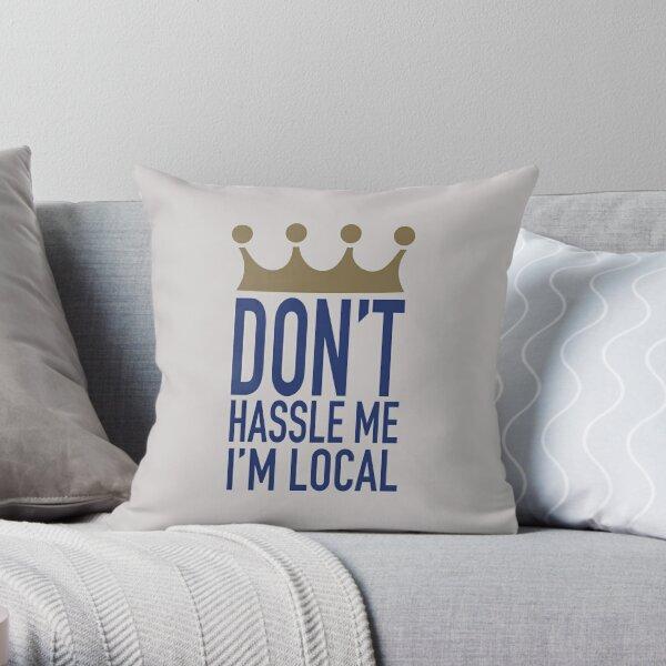 LOCAL. Throw Pillow