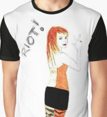Riot Hayley Williams Drawing Graphic T-Shirt