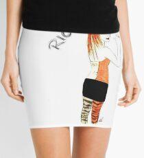 Riot Hayley Williams Drawing Mini Skirt
