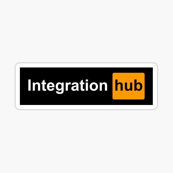 Integration hub Sticker