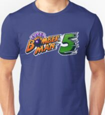 Super Bomberman 5 logotype T-Shirt