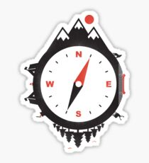 ADVENTURE COMPASS Sticker