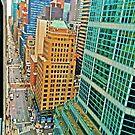 Urban Dimensions NY by David  Perea