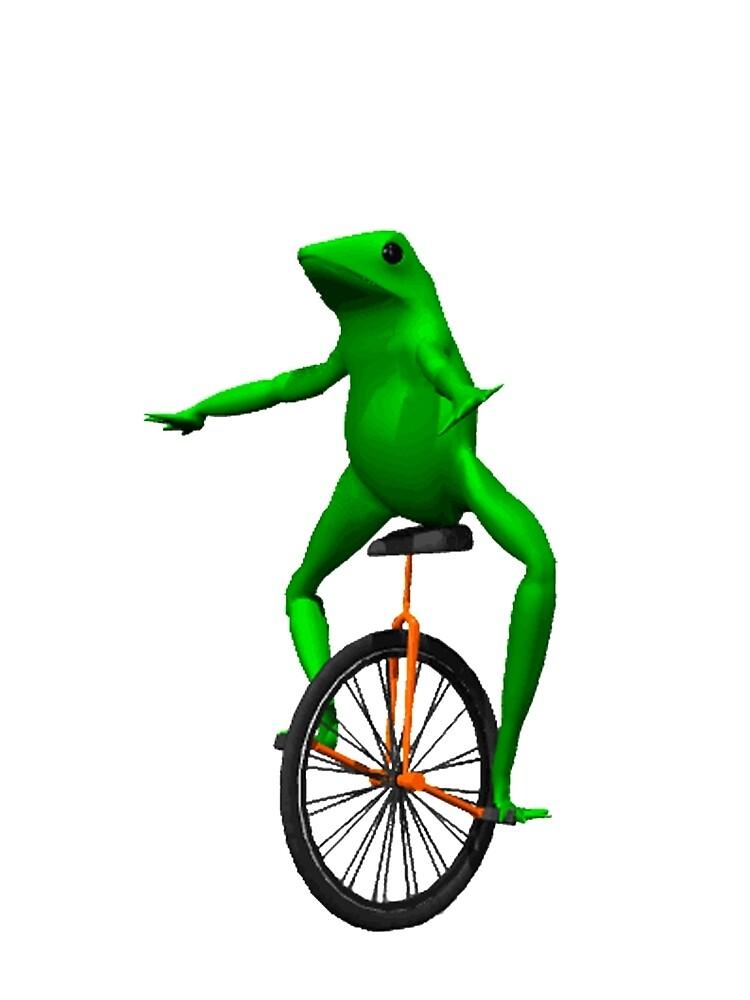 dat boi meme / unicycle frog  by JoeDaEskimo