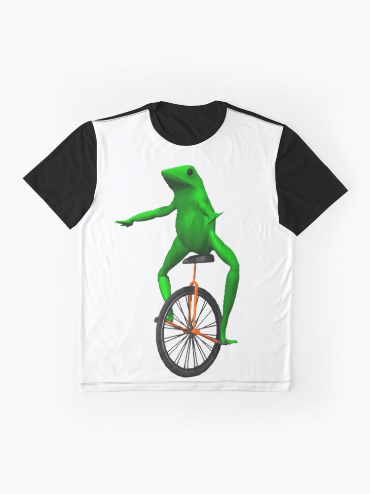 Alternate view of dat boi meme / unicycle frog  Graphic T-Shirt