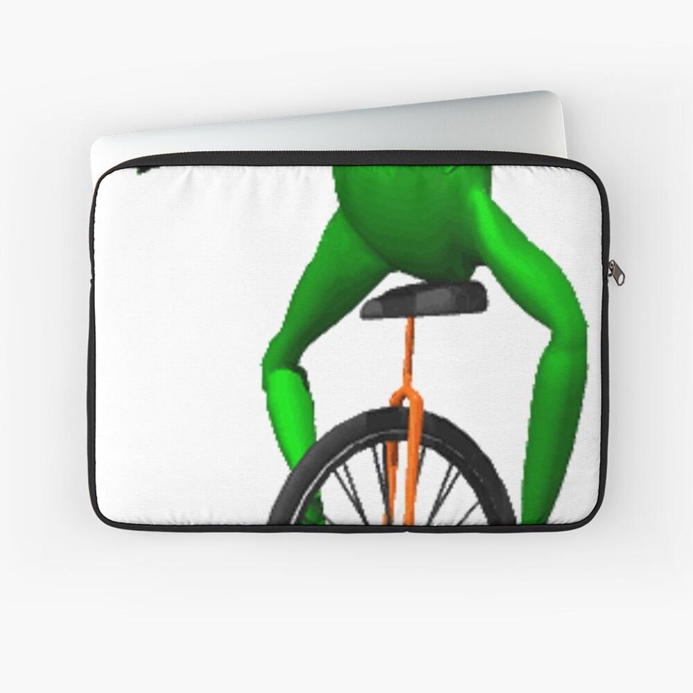dat boi meme / unicycle frog  Laptop Sleeve