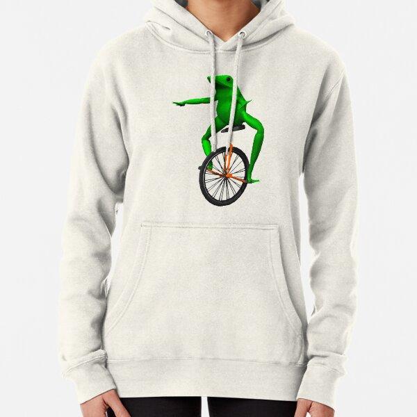dat boi meme / unicycle frog  Pullover Hoodie