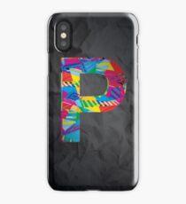 Fun Letter - P iPhone Case/Skin