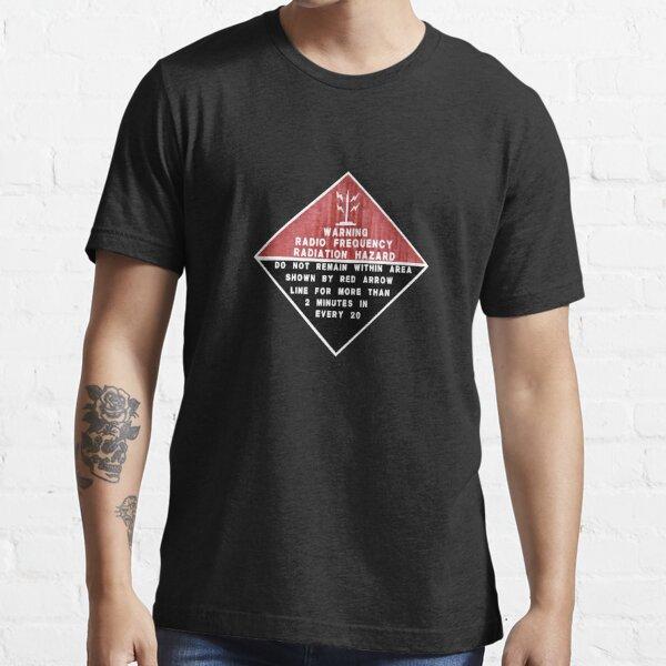 RF Radiation Hazard Essential T-Shirt