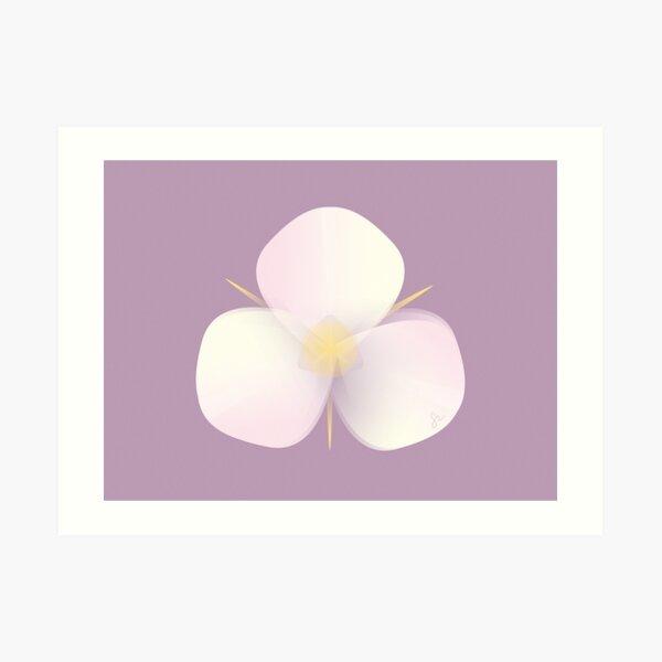 Mariposa Lily Art Print