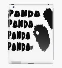 Panda Song iPad Case/Skin