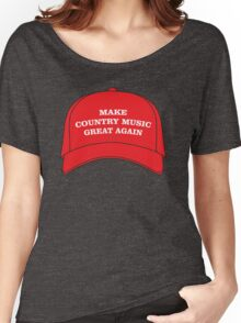 Make Country Music Great Again Women's Relaxed Fit T-Shirt