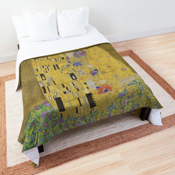 The kiss. Gustav Klimt. Comforter