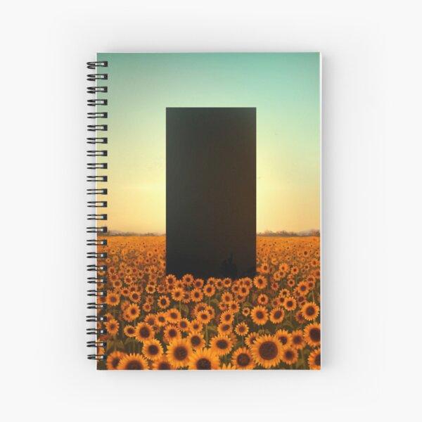 Sunflower Monolith 2 Spiral Notebook