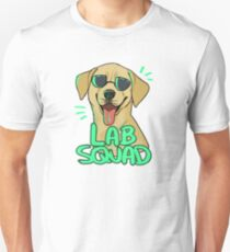 YELLOW LAB SQUAD Unisex T-Shirt