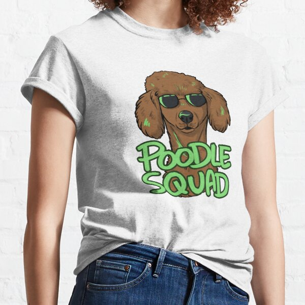 RED POODLE SQUAD Classic T-Shirt
