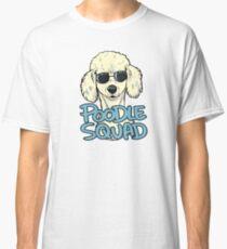WHITE POODLE SQUAD Classic T-Shirt