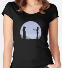 Meeting Luke - Minimal  Women's Fitted Scoop T-Shirt
