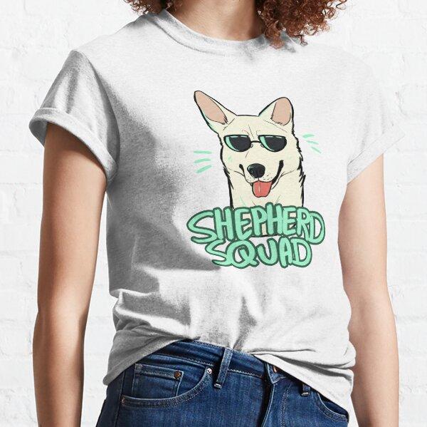 WHITE SHEPHERD SQUAD Classic T-Shirt