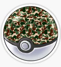 Safari Bape Ball Sticker