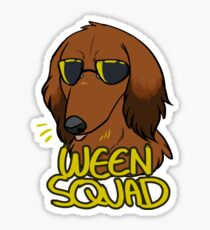 RED WEEN SQUAD Sticker