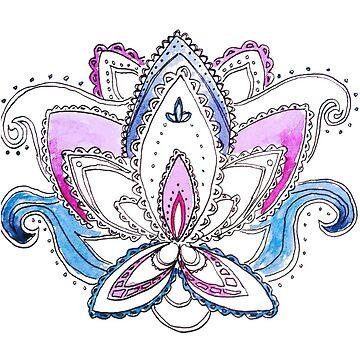 Lotus Flower by gingerbiscuit