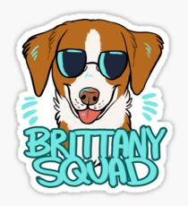 BRITTANY SQUAD (orange) Sticker