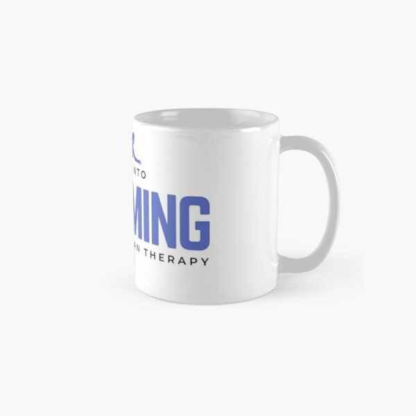 Get Into Swimming It's Cheaper Than Therapy Classic Mug