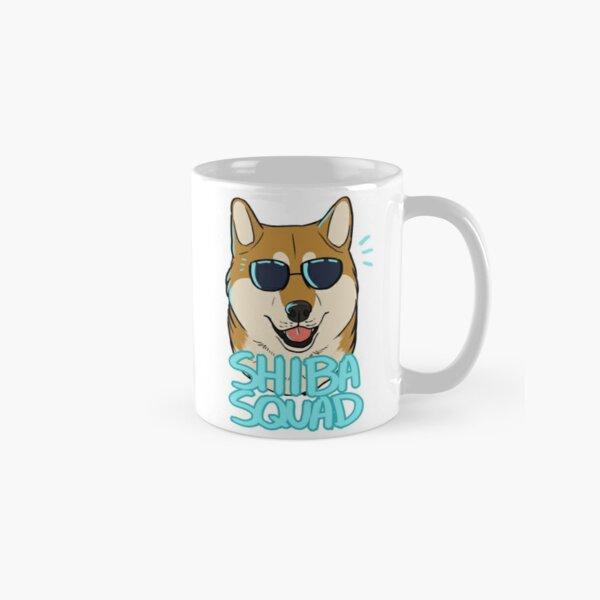 SHIBA SQUAD (red) Classic Mug