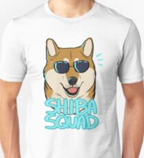 SHIBA SQUAD (red) Unisex T-Shirt
