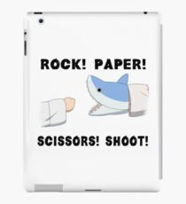 Rock! Paper! Scissors! Shoot! iPad Case/Skin