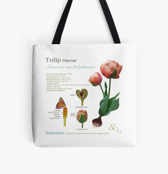 My Tulip 2019 All Over Print Tote Bag