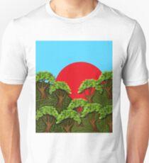 Trees On Hillsides  T-Shirt