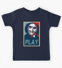 Camiseta para niños Jugar