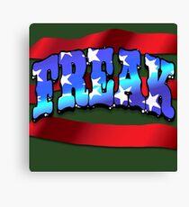 Freak Flagg Canvas Print